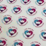 Vaccination Sticker